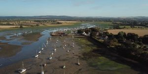Aerial Views from Dell Quay, Chichester, West Sussex