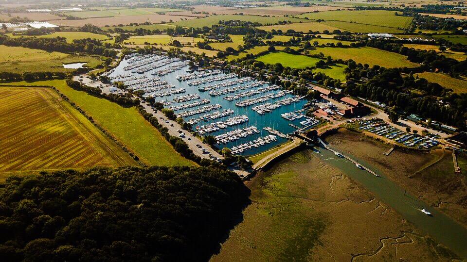 Aerial Photo Chichester Marina