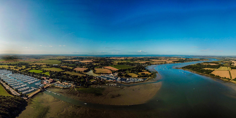 Photography: Aerial Shots of Chichester Marina and Chichester Harbour